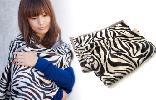 ND-st05_Zebra WoolStole_L